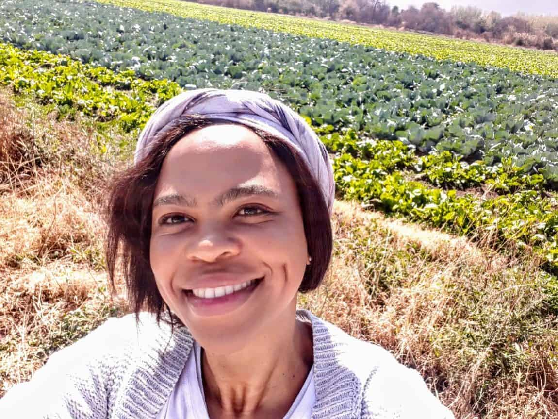 Karabo Rampete farms indigenous vegetables on her farm in Pretoria. She believes these vegetables saved her life and supplies big retail stores with it.