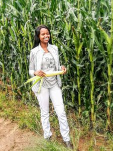 Farmer, Njabulo Mbokane is creating employment in her community and she's just 24 years old.