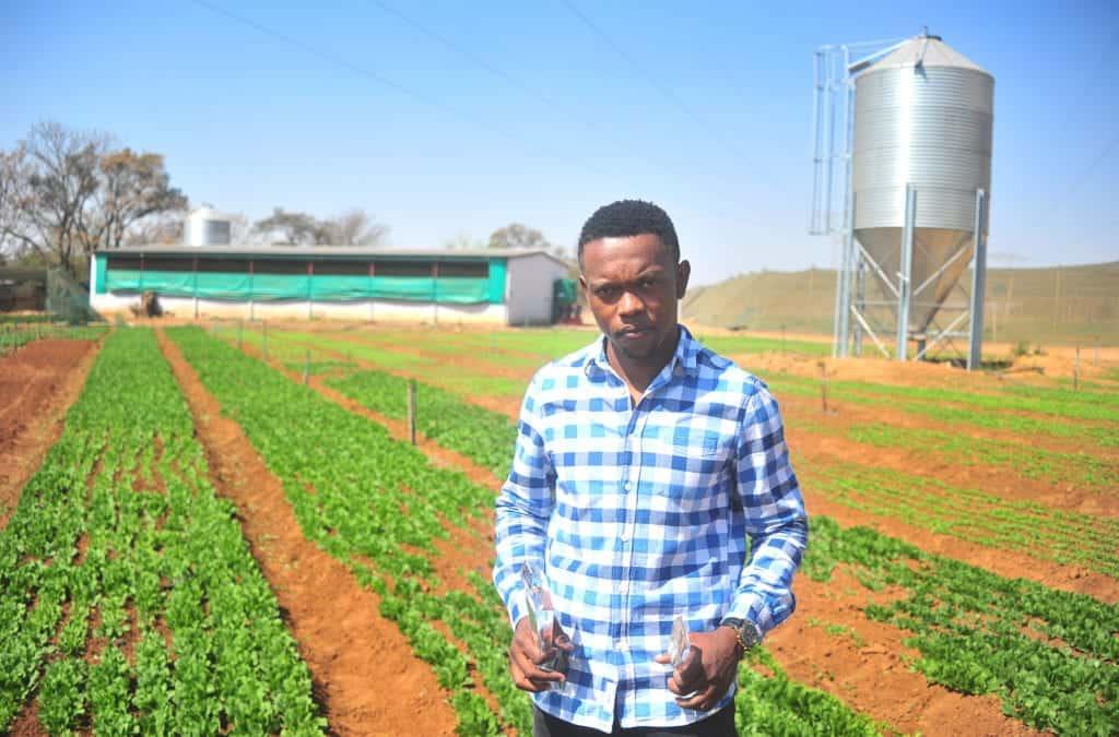 Thabo Ramaphala is multi award-winning farmer who contributes his success to his family.