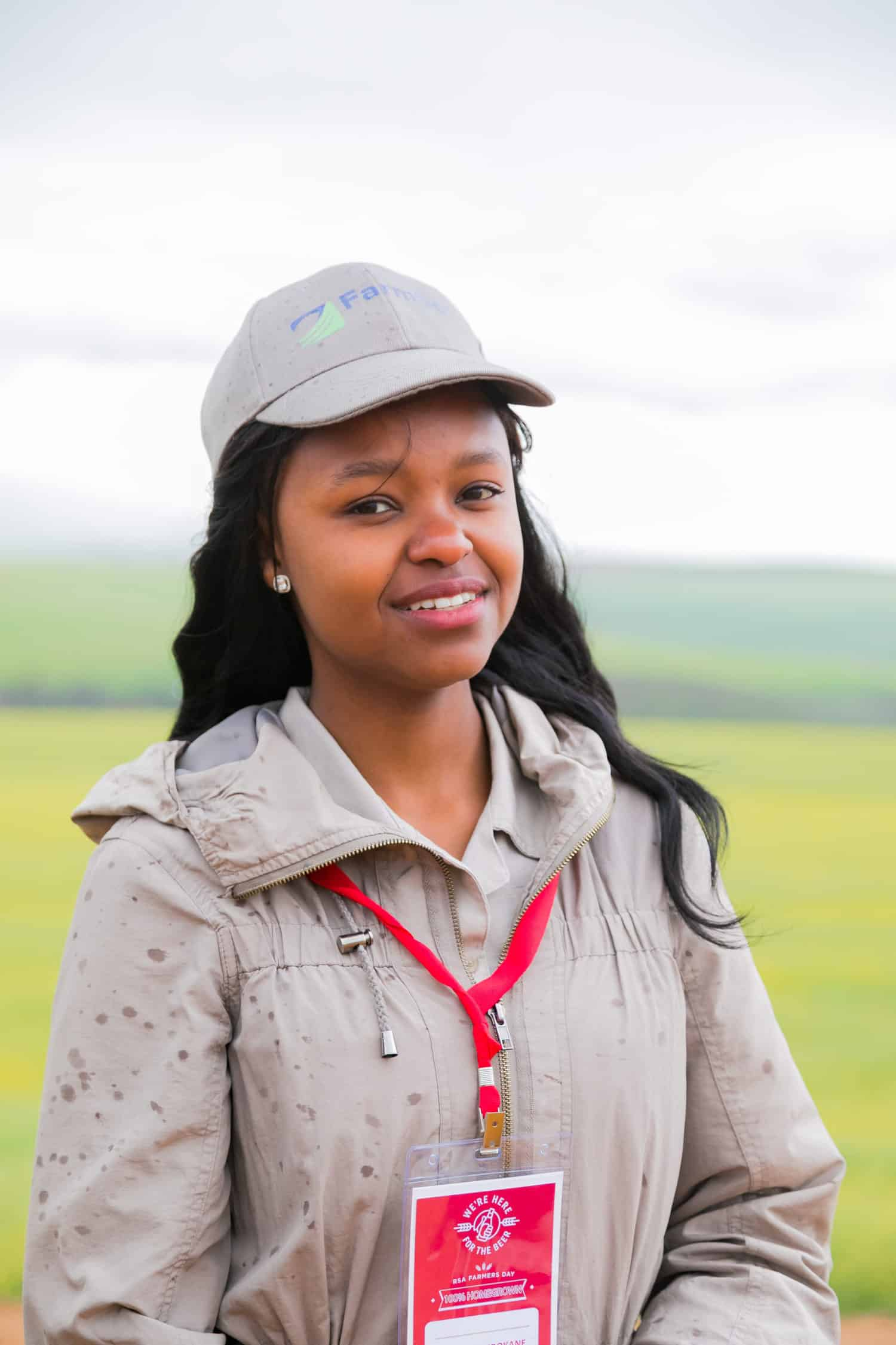24-year-old Njabulo Mbokane farms with yellow maize and non-GMO crops in Mpumalanga and has also expanded into livestock.