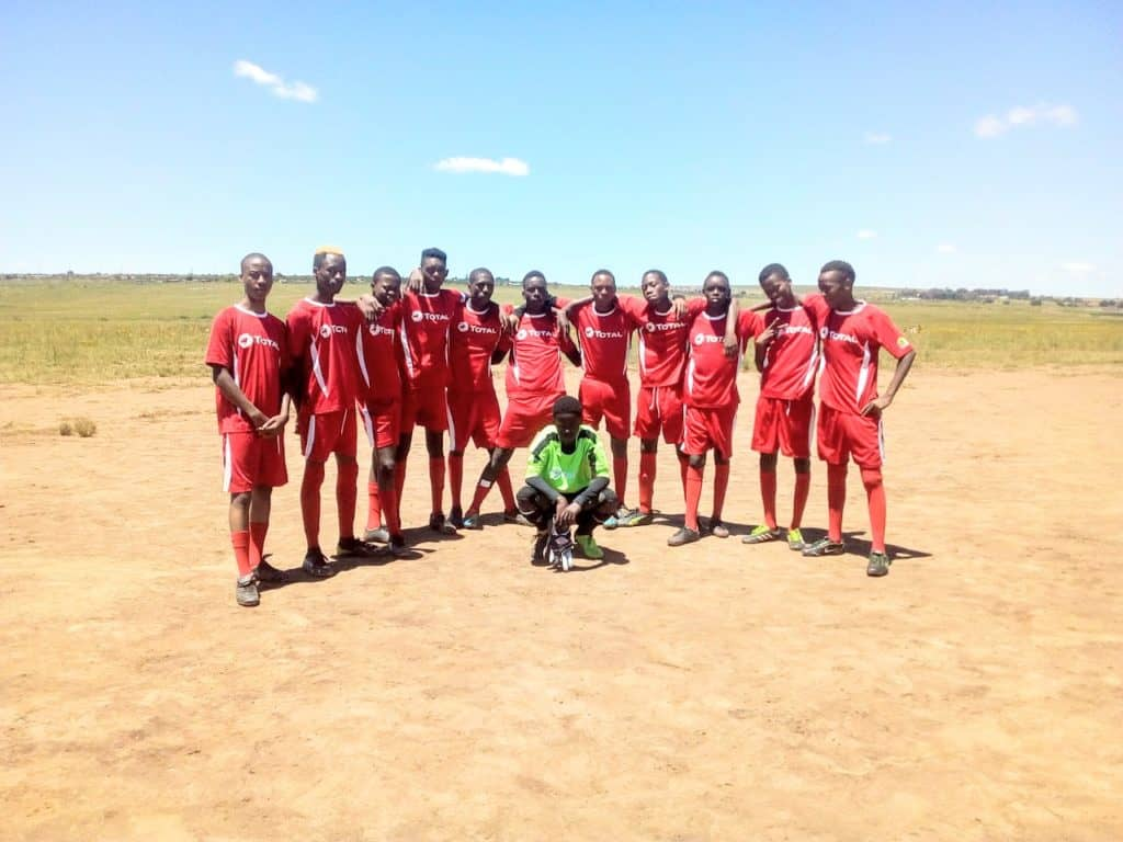 Tsakane Sport Academy and Projects encourages young people to take an interest in agriculture.