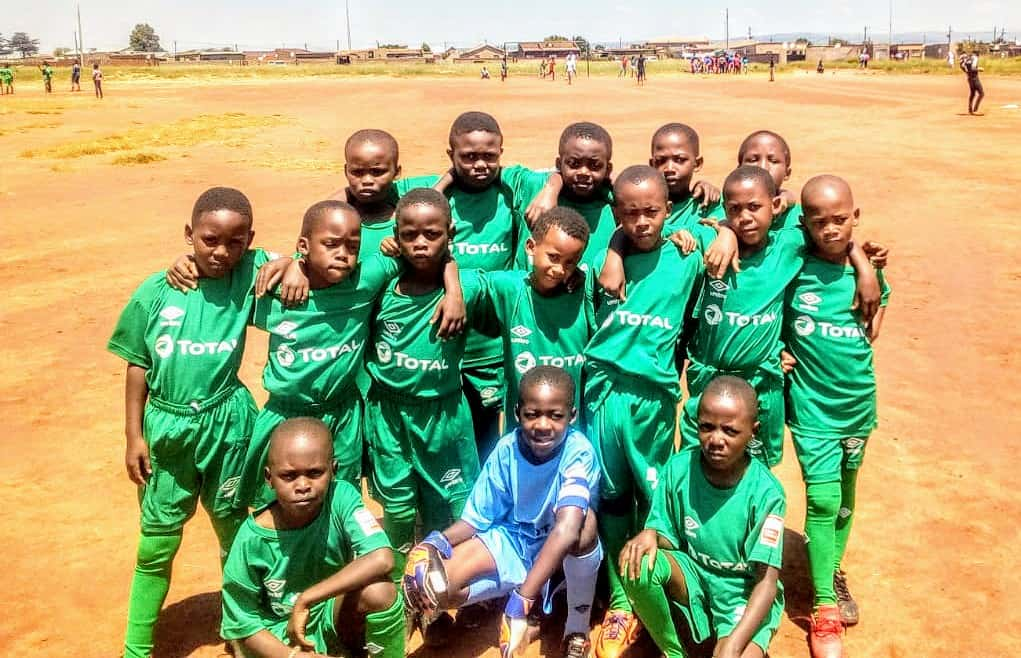 Tsakane Sport Academy and Projects is providing a place for these youngsters to engage in sports activities and learn about agriculture.