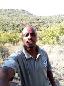 Tebogo Matshane is a land reform beneficiary in the Barokologadi CPA in Madikwe, North West.