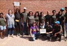 Tshiamo Malatji launched the UFS Food Sovereignty Campaign on World Food Day last year, his goal was for students to be able to choose what they want to produce.