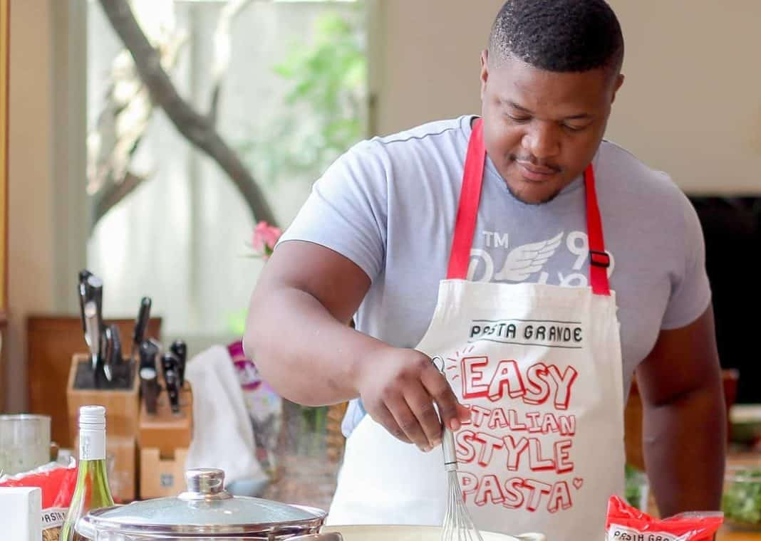28-year-old food amplifier, Mbonani Daniel Mbombi, says that the most rewarding feeling as a chef is always cooking authentically.