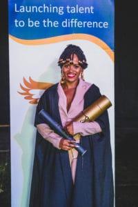 Aphelele Mvamva plans to open her own business In five years. Picture: Keli van der Weijde