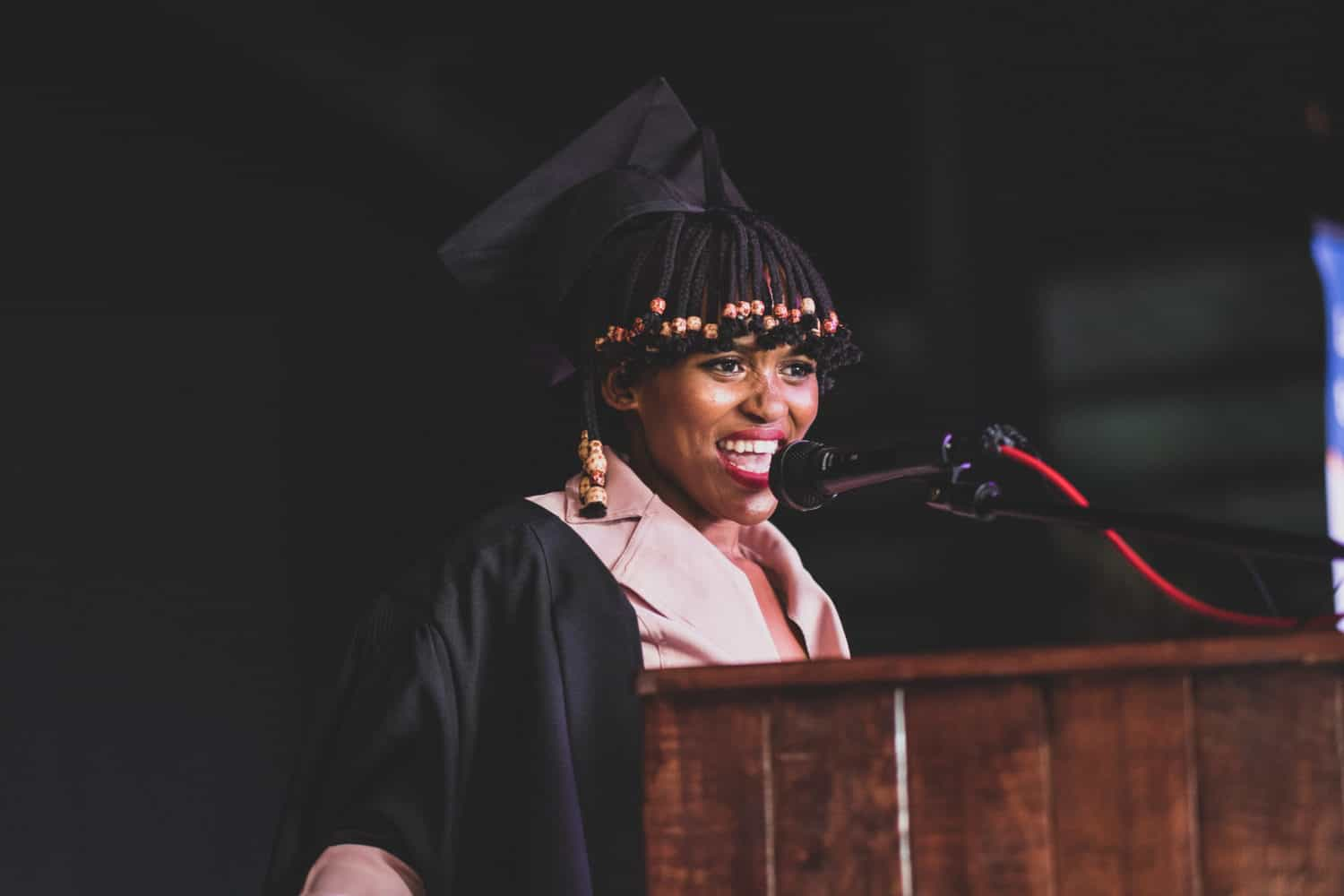 Aphelele Mvamva (21) from Kayamandi, Cape Town will fast track her career in the wine industry after being chosen as the first Drostdy Hof Graduate in their skills accelerator programme. Picture: Keli van der Weijde