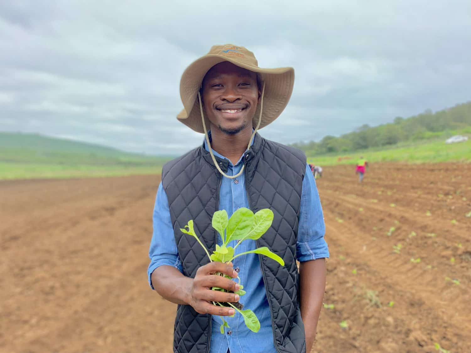 APPLY: Andile Ngoco (26) manages the operations of Tusokuhle Farming in Pietermaritzburg.