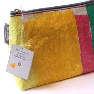Plasticity clutch bag