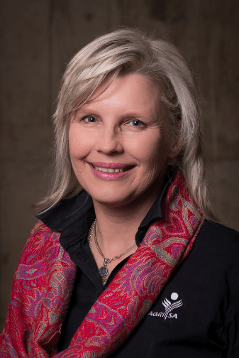 Annelize Crosby, Agri SA's head of land and legal affairs. Photo: Supplied/Food For Mzansi