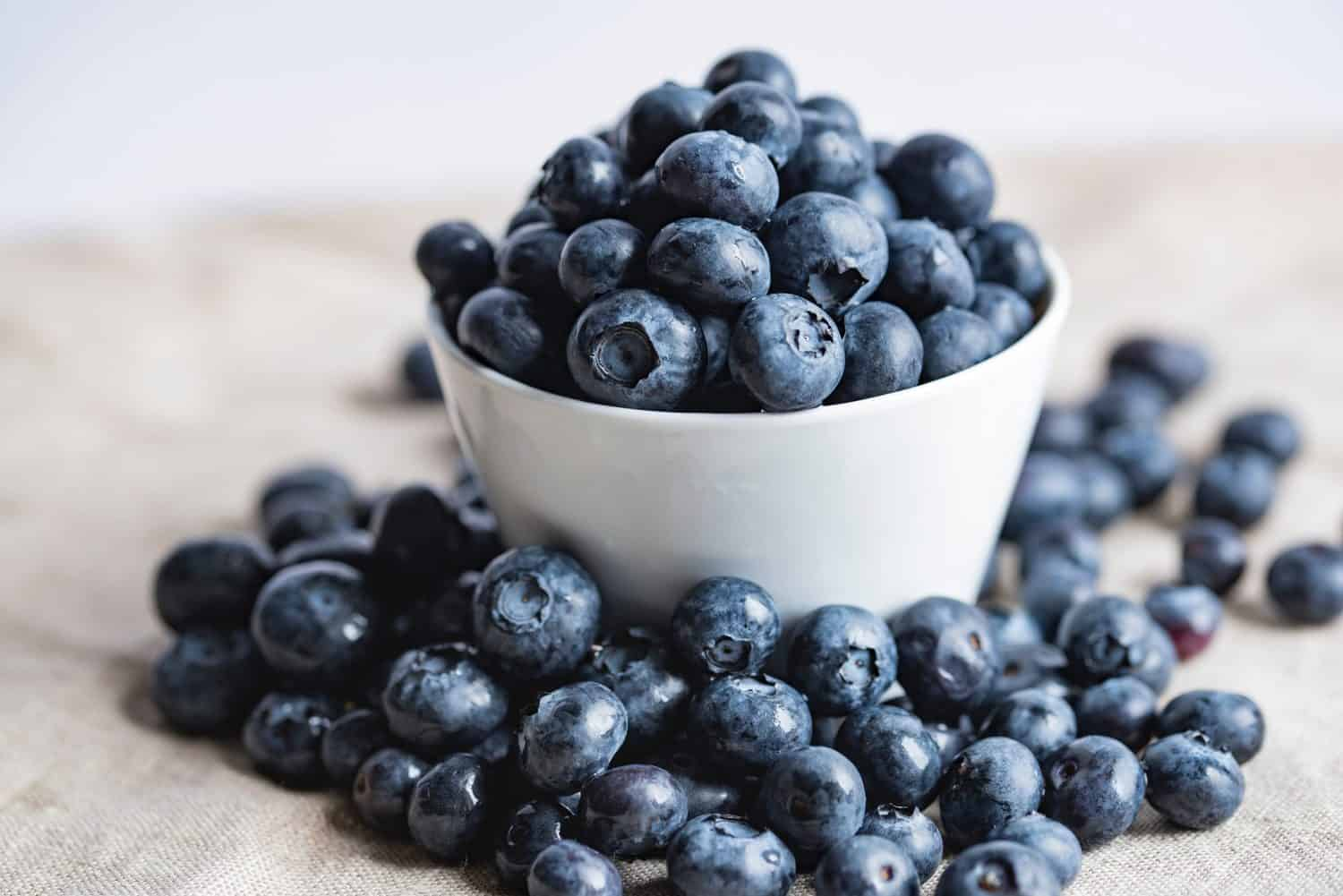 Swap out high sugar fruit such as grapes, mango and bananas with blueberries which are low in sugar.