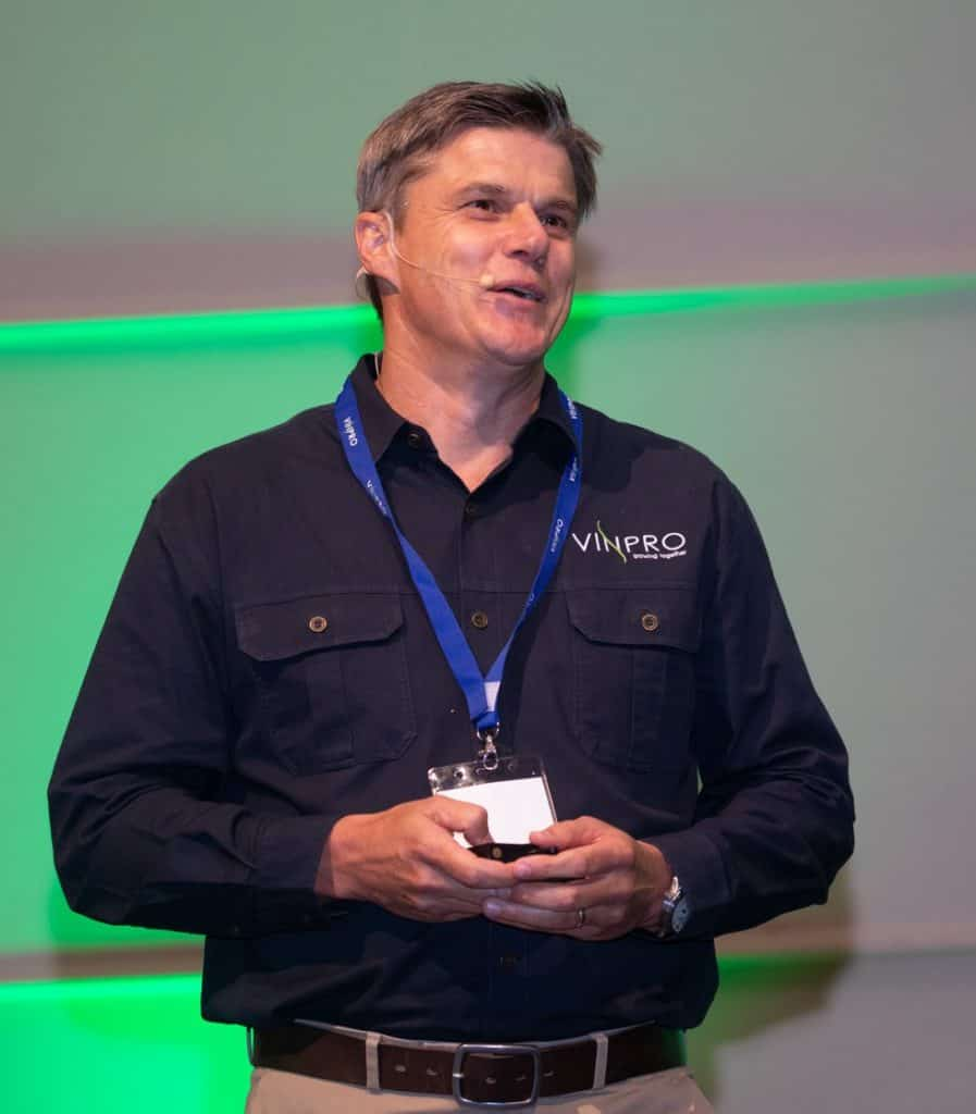 Managing Director of Vinpro Rico Basson.  Photo: Vinpro