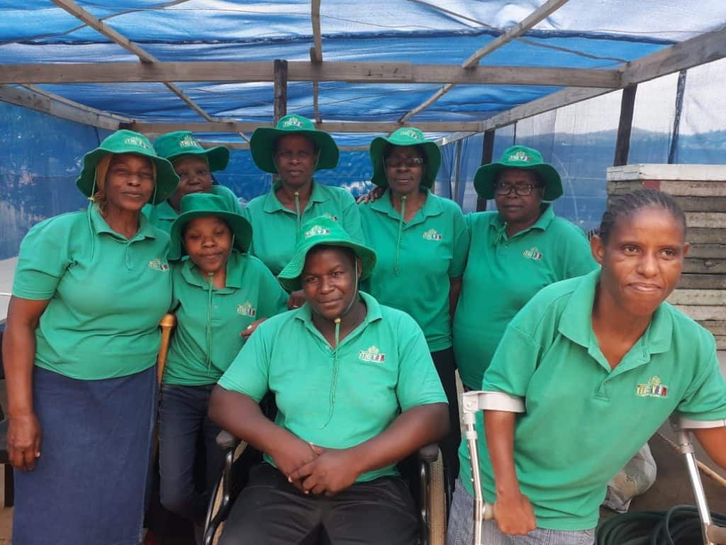Project Ithemba seeks to diminish all forms of discrimination and intolerances towards people living with disabilities.