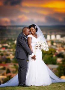 Kubheka had a dream wedding with his wife, Nonkululeko.