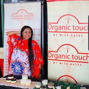 Masango utilizes pop-up markets in Gauteng to sell her skincare products.