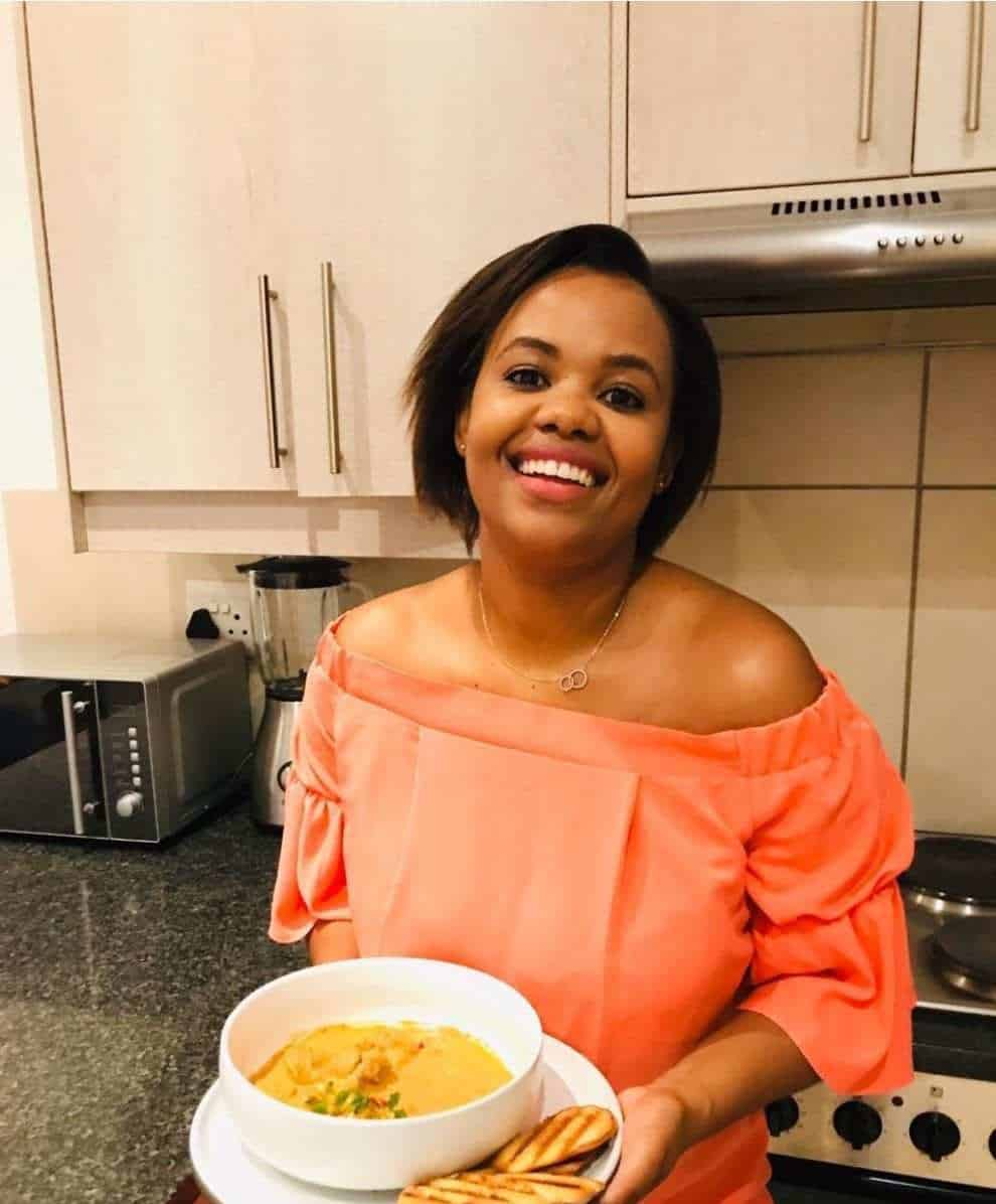 To escape the hustle and bustle of her corporate career, Jabulile Dube (28) sought solace in the kitchen