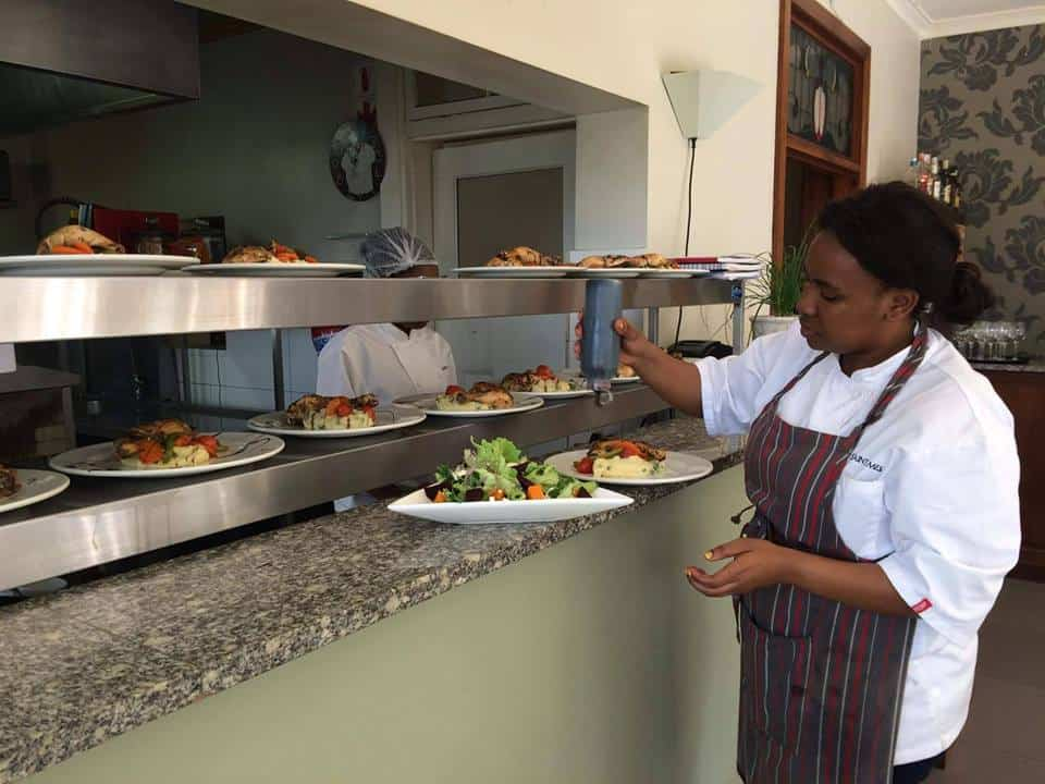 Chef Nomcebo Ndlela caters at private events all around KZN