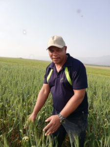Andries van der Poll's is living out his life-long dream on a 450 hectare farm in Gouda in the Western Cape