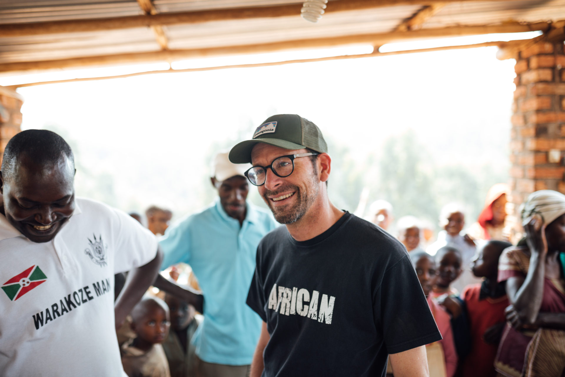 Jonathan Robinson started his company with hopes to make a difference in the lives of small-scale coffee farmers in Africa.