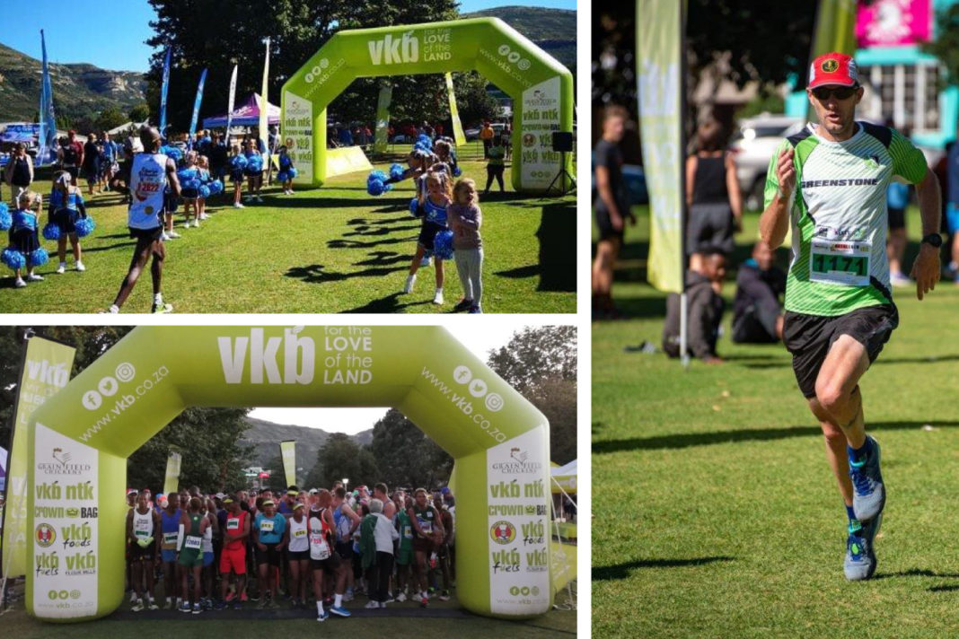 The VKB-sponsored Surrender Hill Marathon in Clarens, eastern Free State, challenges runners, but rewards them with crystal clear views of rolling green hills and distant mountain peaks.