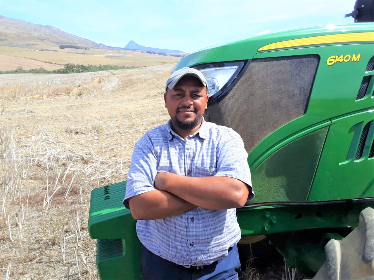 André Hans established the Overberg Boerdery Trust made up of 14 agriworkers who went from working on a farm to managing it.