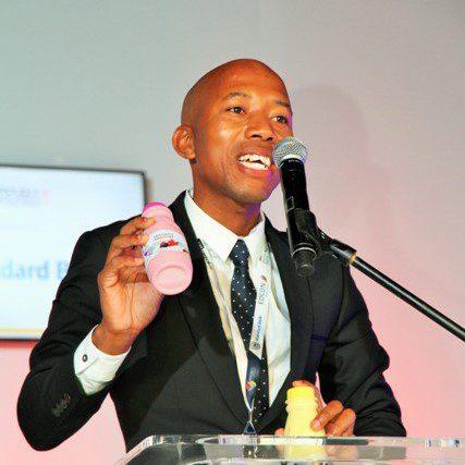 Edward Kgarose (30) is the creative mind behind his agribusiness, Kgarose Kgaros (Pty) LTD, which produces sweet potato yogurt.