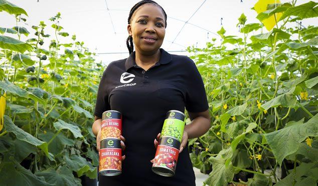 Elite Crop owner, Ntando Thabethe.
