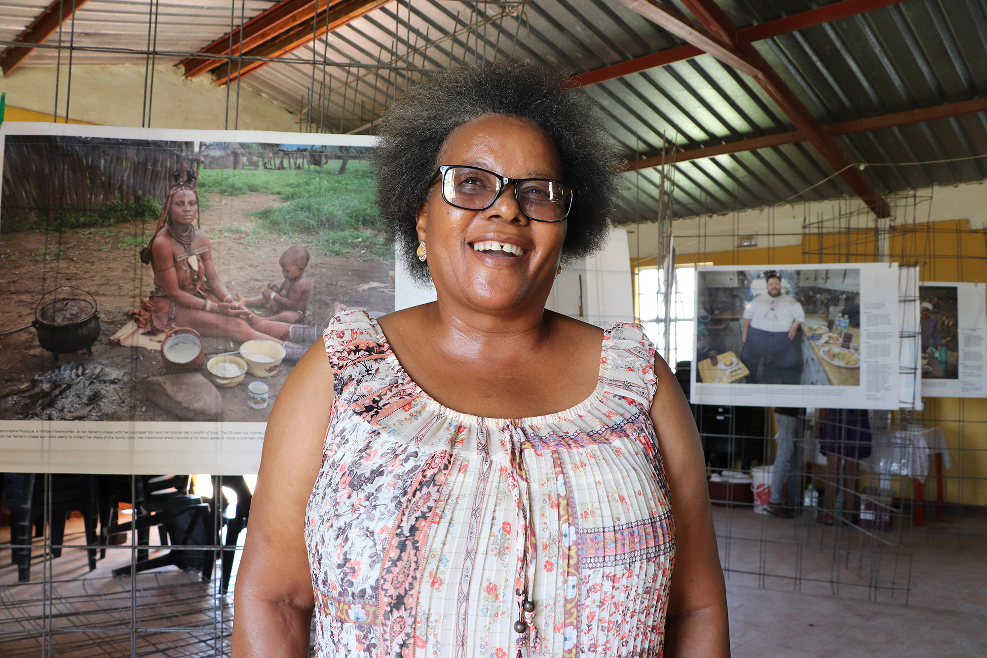 Thandeka Lubambo is excited at the opportunity to use her newly acquired journalism skills.