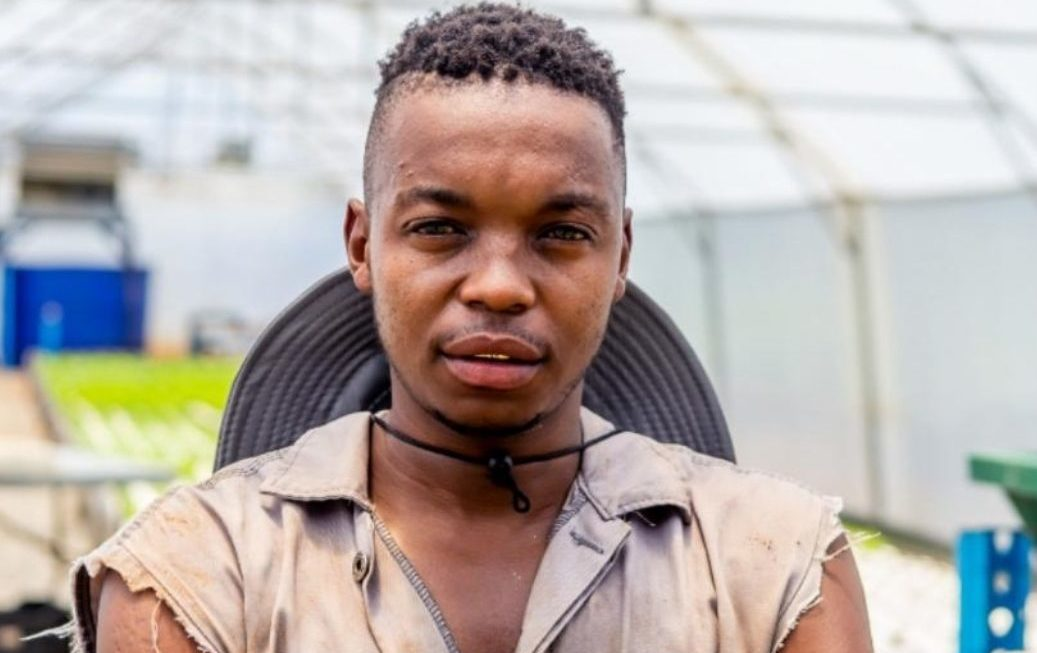 Urban farming was the light at the end of the tunnel for Mosesi Mosesi.
