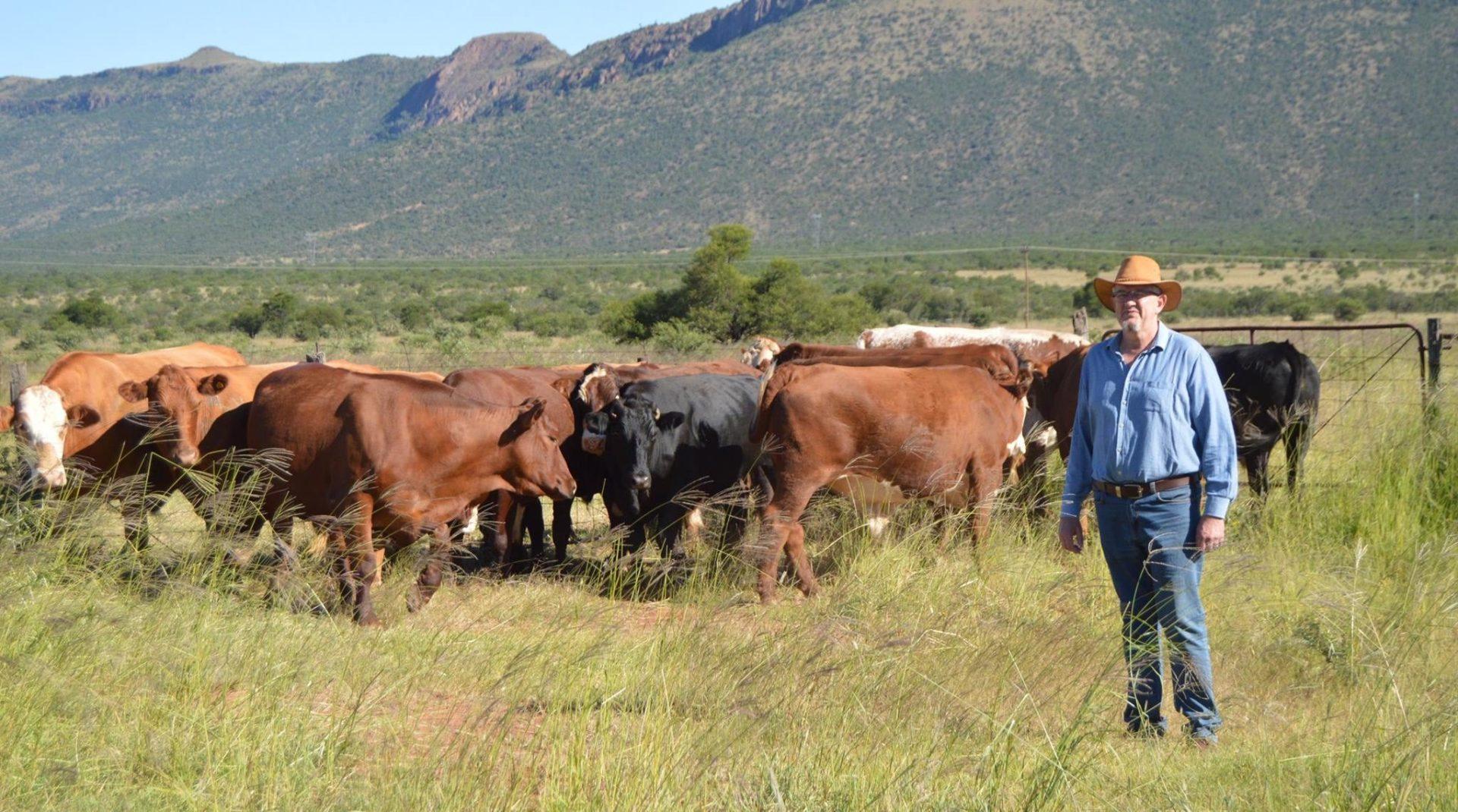 Eastern Cape livestock farmer Dr Pieter Prinsloo.