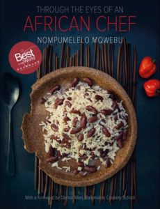 Chef Nompumelelo Mqwebu's cookbook.
