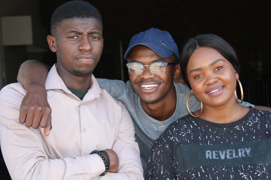 These 22-year-olds (Kutlwana Tisane, Percyval Alset and Lerato Maphoto) started their own hydroponics systems manufacturing business - an idea that was sparked by a high school science project they did together.