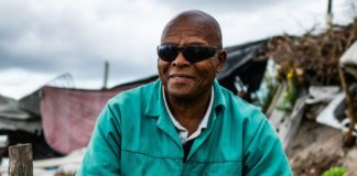 Vuyo Tsika (72) is a backyard farmer spreading hope in the community of Delft in the Western Cape. Photo: Supplied