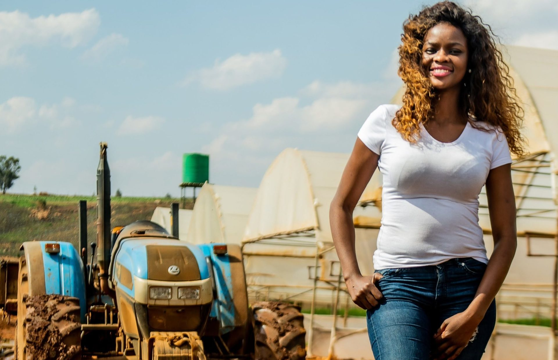 CEO and owner of VT Harvest, Vuthlari Chauke left her posh Sandton job to pursue a career as a farmer.