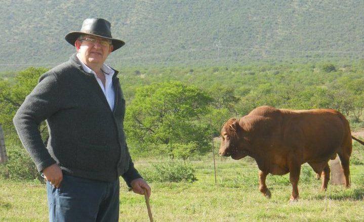 Eastern Cape livestock farmer Dr Pieter Prinsloo. | Cultured meat
