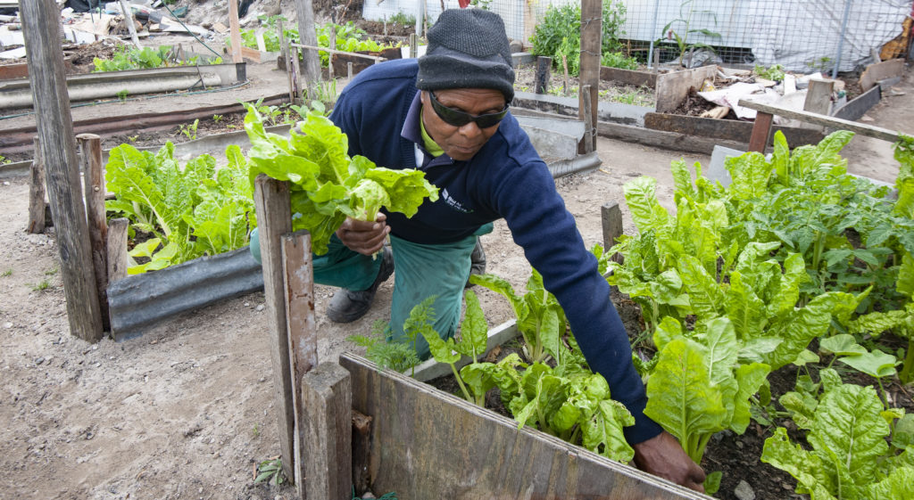 Vuyo Tsika lost his sight, his job, and his home, but not his determination.