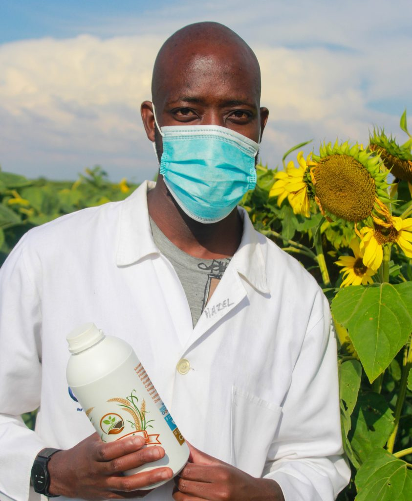 Thapelo Phiri Jnr says he loves agriculture because he believes it is the future.