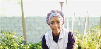 Nomonde Kweza is an award-winning farmer and the owner of Ulimo Lwethu food garden in Gugulethu, Cape Town.