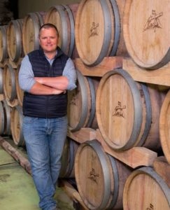 Abrie Beeslaar, head winemaker of Kanonkop Wine Estates