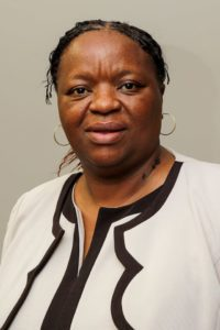 Professor Xikombiso Mbhenyane heads up the division of human nutrition at Stellenbosch University.