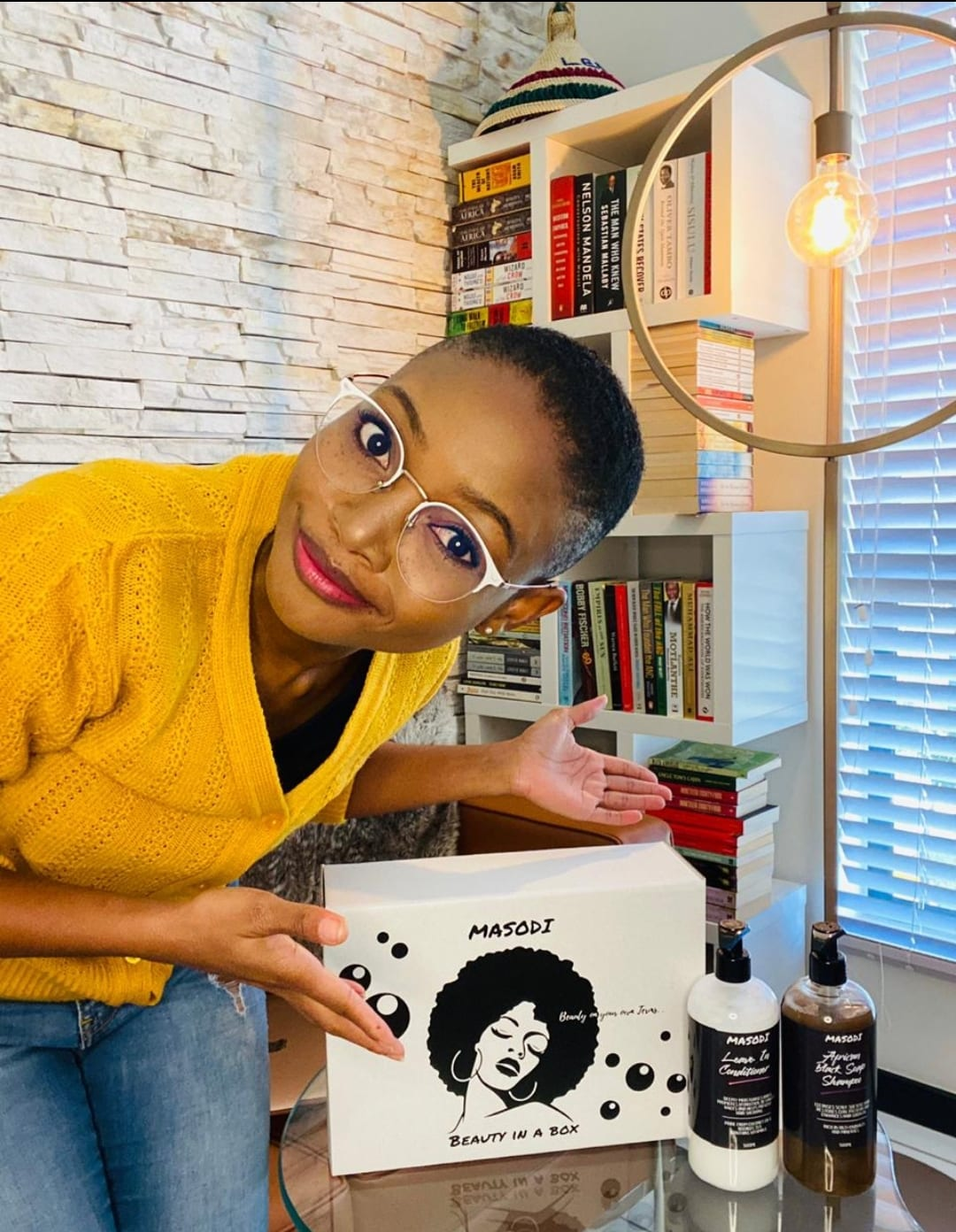 Liz Letsoalo (28) was inspired by her equal passions for politics and entrepreneurship to create Masodi Organics. Photo: Supplied