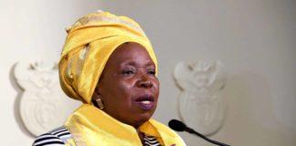 Dr Nkosazana Dlamini-Zuma, minister of cooperative governance and traditional affairs. Photo: Supplied/Government ZA