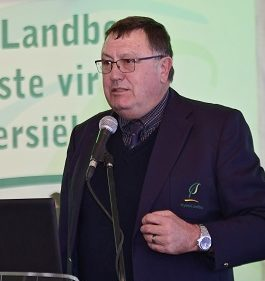 Tommie Esterhuyse, vice president of Free State Agriculture. Photo: Supplied