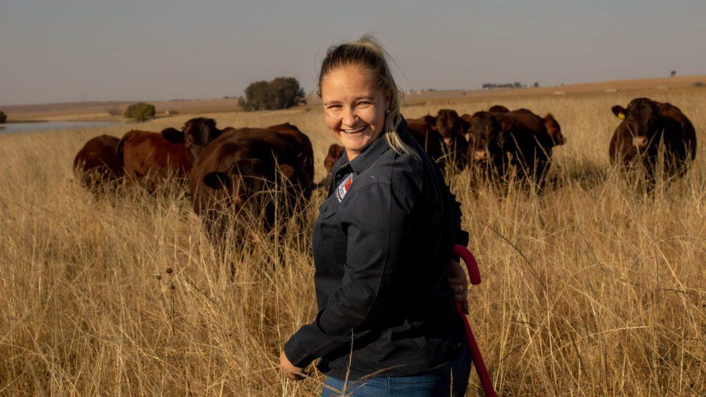 Free State farmer, Annalea van Niekerk. Photo: Supplied/ Food For Mzansi