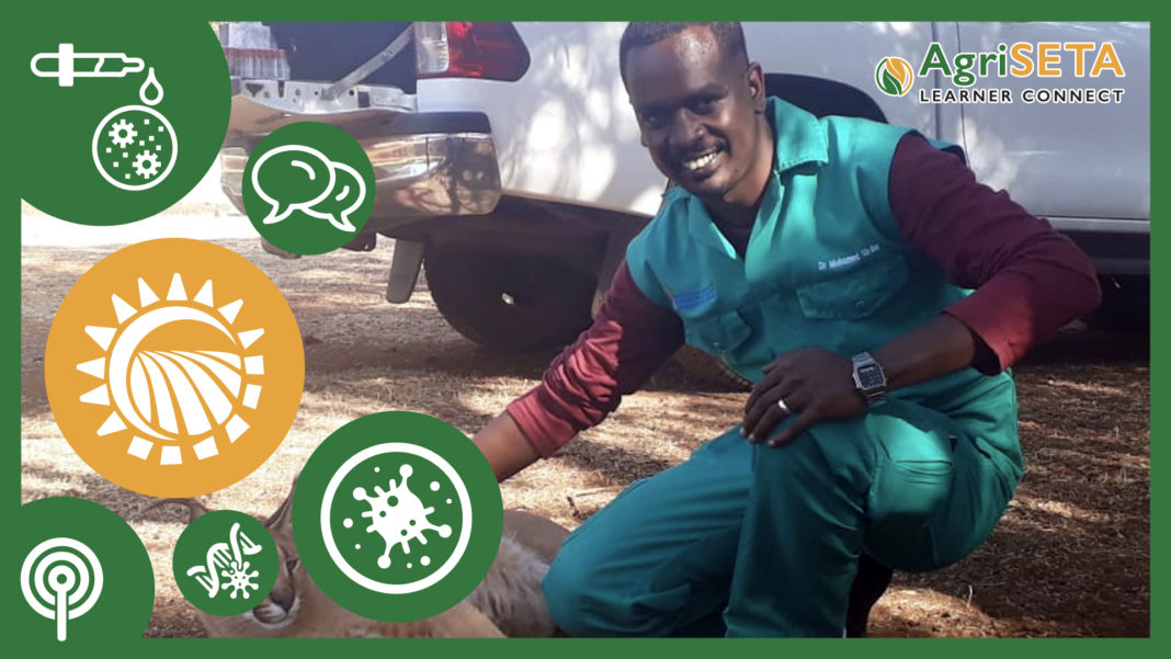 Senior veterinary researcher at the Agricultural Research Council at the Onderstepoort Veterinary Research Institute, Dr Mohamed Sirdar.