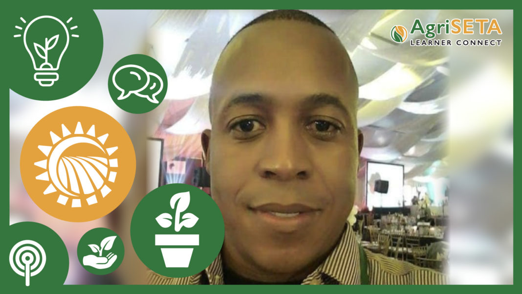 Maboloka Jonas Chipa is an agricultural advisor at the Gauteng Department of Agriculture and Rural Development.
