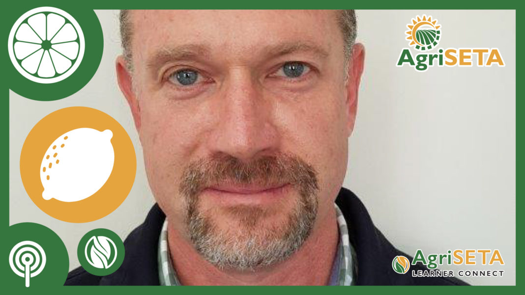 Adriaan Badenhorst is a product specialist in citrus and table grapes at the Perishable Product Export Control Board (PPECB).