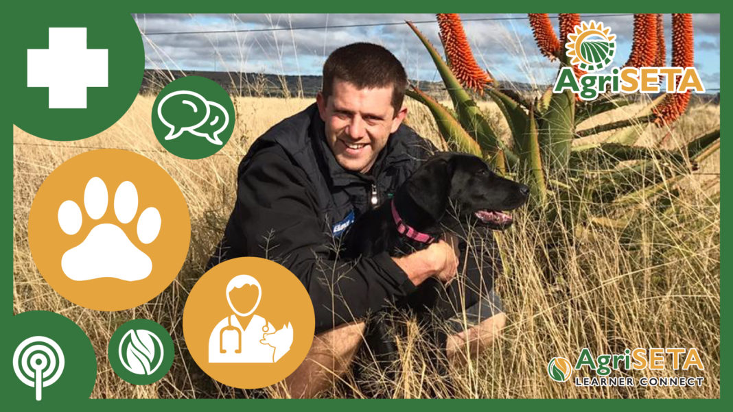 Dr Luca Mendes (32) is a practicing veterinarian at the Ikhala Veterinary Clinic in Makhanda.