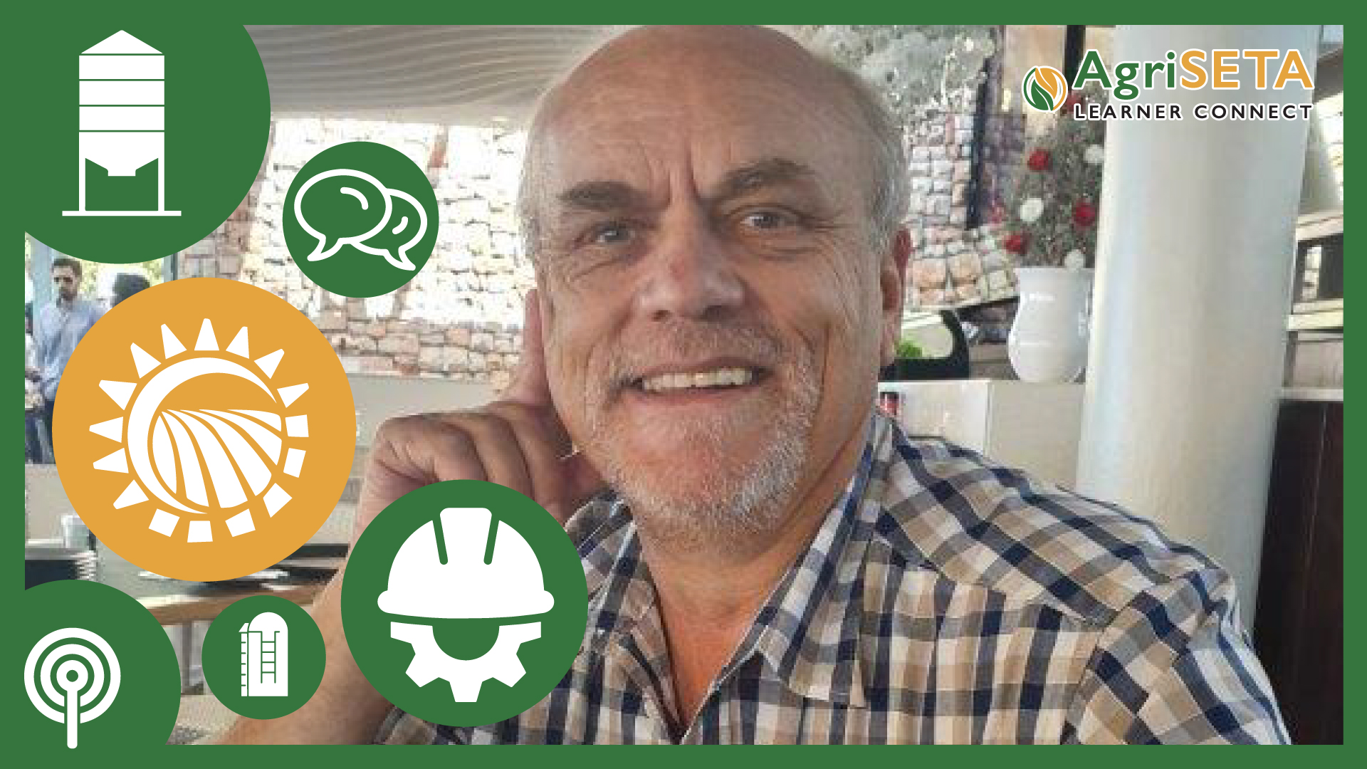 Andries Bezuidenhout, feed mill manager at Rosgrow Feeds a specialized animal feed company.