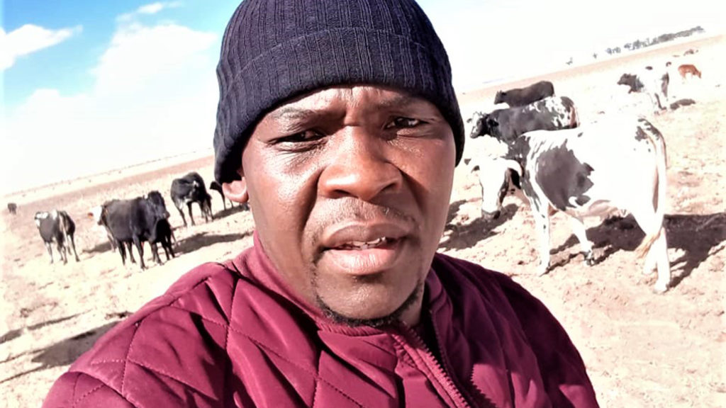 Bush Masiu says he is a successful Free State farmer because he is not a 'bluetooth' farmer. Picture: Supplied.